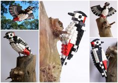 British Birds made from Lego!