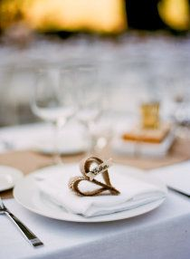 White table setting #neutral wedding... Wedding ideas for brides, grooms, parents  planners ... https://itunes.apple.com/us/app/the-gold-wedding-planner/id498112599?ls=1=8 … plus how to organise an entire wedding ♥ The Gold Wedding Planner iPhone App ♥ http://pinterest.com/groomsandbrides/boards/