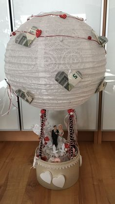 Hochzeit Hochzeit The post Hochzeit appeared … wedding wedding The post wedding appeared first on wedding gift ideas. Hot Air Balloon Centerpieces, Diy Hot Air Balloons, Baby Shower Table Centerpieces, Wedding Gift Baskets, Diy Wedding Gifts, Home Decor Baskets, Basket Decoration, Wedding Decoration, Don D'argent