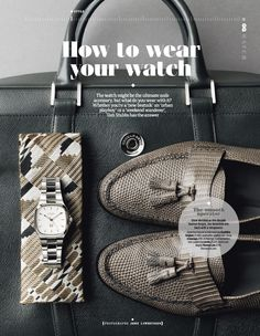 a stylish is as important as shoes as an to complete your wardrobe Decades Fashion, Beatnik, Gq Magazine, Playboy, Louis Vuitton Damier, Toms, Fashion Accessories, Michael Kors, Mens Fashion