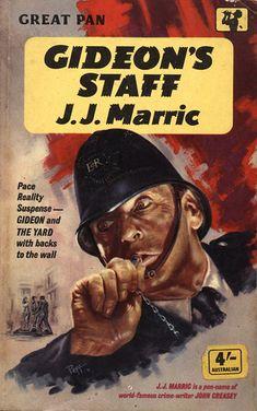 Gideon's Staff by J.J. Marric (John Creasey). Pan 1961. Cover artist Sam Peffer by pulpcrush, via Flickr