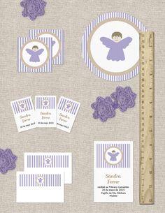 Colección de imprimibles Angelito para comunión