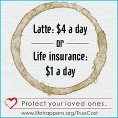 If you think life insurance is too expensive, this might change your mind. Life Insurance, Life Insurance tips, #LifeInsurance