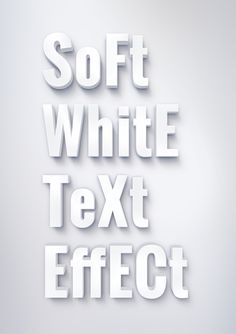 This PSD resource allows you to apply a soft 3d look to your text. Just edit the text inside smart object, save it and the effect will...