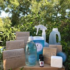 The Figgy Sampler - the ultimate DIY kit - Figgy and Co Oxygen Bleach, Diy Home Cleaning, Washing Soda, Natural Cleaning Products, Bar Soap, Diy Kits, Own Home, Clean House, Vinegar