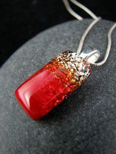 glass fused pendant
