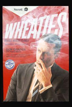 Don Draper for Wheaties!