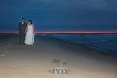 Amazing sunrise for Ocean City MD beach wedding by Rox:  https://www.roxbeachweddings.com/