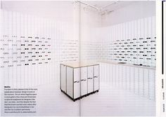 MYKITA featured in the 2011 issue of the Wallpaper City Guide Berlin