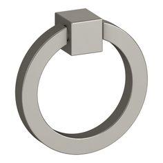 Kohler K-99685 Jacquard 2 Inch Diameter Ring Cabinet Pull Satin Cabinet Hardware Pulls Ring