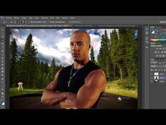 TUTORIAL FOTOMONTAJE EN ADOBE PHOTOSHOP CS6 - YouTube