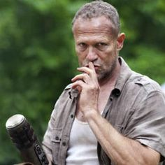 """A deleted scene from """"The Walking Dead"""" Season 3 was released that shows a confrontation between Carol and Merle."""
