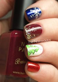 12 days of #Christmas #nails