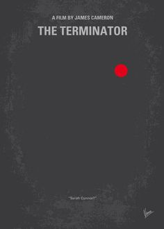 No199 My Terminator minimal movie poster by Chungkong