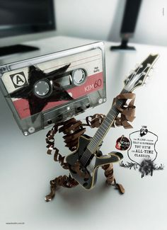 Finally, a use for cassette tapes...