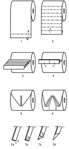 This toilet paper origami pleat design is a favorite. It's a little tricky to make, but as you can see, it is a beautiful model. Toilet Paper Origami, Towel Origami, Toilet Paper Art, Origami Boat, Napkin Folding, Paper Folding, Towel Animals, How To Fold Towels, Paper Umbrellas