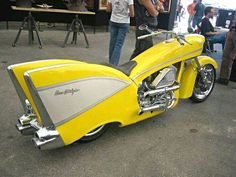 57 Chevy motorcycle