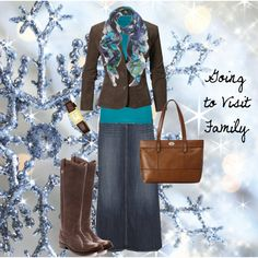 """Going to Visit Family"" by pentecostal-andlovingit on Polyvore"