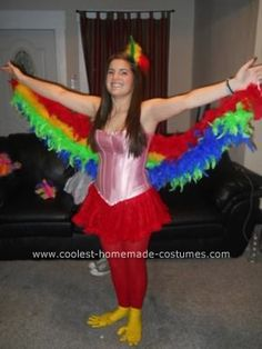 Homemade Bird Costume For Women 1000+ ideas about Parr...