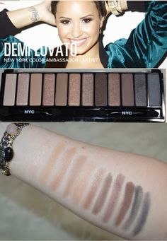 Drugstore Find: NYC Lovatics by Demi Eyeshadow Palette Prime Beauty Blog