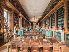 Bibliothèque Mazarine - gilt als älteste Bibliothek Frankreichs. Wundervolle Ausblicke auf Seine und Louvre!