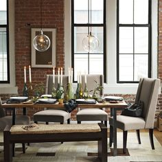 Industrial Dining Table | west elm