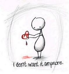 I will never trust anyone with my heart again.