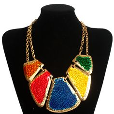 Chunky Cowgirl Bling | ... fashion new vintage jewelry chunky collar necklace chain necklaces