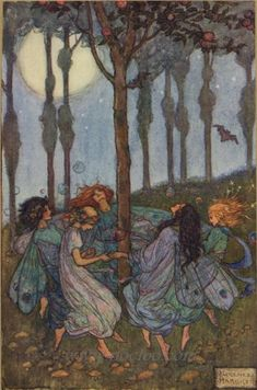 Emma Florence Harrison (1877–1955) was an English Art Nouveau and Pre-Raphaelite illustrator of poet