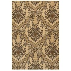 Rizzy Home Chateau CH4244 Rug - (5 Foot 3 Inch x 7 Foot 7 Inch), Beige