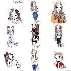 Cute FanArt from Amazing Son Na Eun Fandom.....