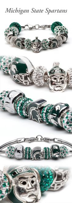 Michigan State Jewelry | Michigan State Spartans. www.StoneArmory.com