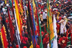 More than 700 participants imarch at the Cap Go Meh Great Parade. Photo by Teguh Wicaksono