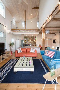 Surf House, Beach House, California Style, Room Interior, Room Decor, House Design, Table Decorations, Outdoor Decor, Furniture