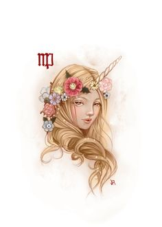 Virgo tattoo would loveee to get this so beautiful !