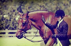 That satisfying feeling when your day with your horse was a job well done :)