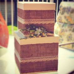 about Wedding card box on Pinterest Diy wedding card box, Michaels ...