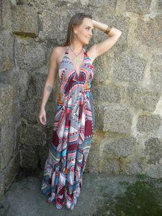 Vestido Deusa Longo 9