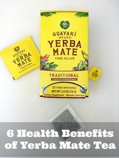 6 Amazing Health Benefits of Yerba Mate Tea - http://www.sofabfood.com/5-amazing-benefits-of-yerba-mate-tea/ You have to read these 6 Amazing Health Benefits of Yerba Mate Tea and reasons why you should be drinking it every morning for weight loss and energy!  We have found a new drink that may take the place of your morning cup of coffee. Yerba Mate Tea, used medicinally by the native people in B...