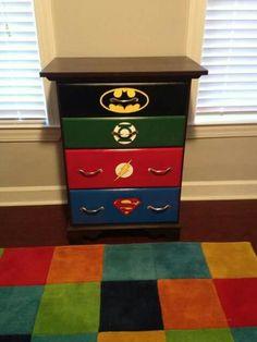 Superhero dresser.