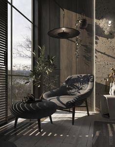 Black Bedroom Design, Black Interior Design, Home Room Design, Dream Home Design, Modern Interior, Interior Architecture, Tranquil Bedroom, Dream House Interior, Dark Interiors