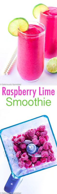 Splendid Smoothie Recipes for a Healthy and Delicious Meal Ideas. Amazing Smoothie Recipes for a Healthy and Delicious Meal Ideas. Yummy Smoothies, Juice Smoothie, Smoothie Drinks, Smoothie Bowl, Detox Drinks, Raspberry Smoothie, Raspberry Recipes, Homemade Smoothies, Energy Smoothies