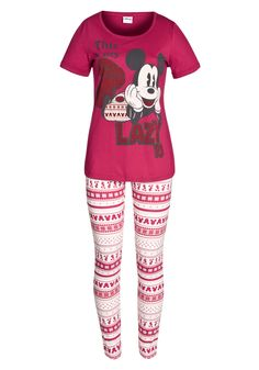 Clothing at Tesco | Disney Lazy Mickey Pyjamas > nightwear > Nightwear & Slippers > women