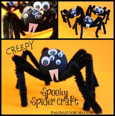 Spider Craft - Perfect for Halloween!!