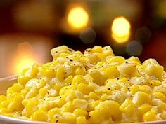 Southern Creamed Corn : Corn kernels and heavy cream are mixed then sauteed in bacon grease in this classic dish of ultimate Southern decadence.