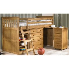 48c2c413678b 8 Best Bunk Beds images | Child room, Wooden bunk beds, Bunk beds