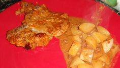 Cowboy Pork Chops- in the crock pot