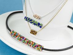 Totally Tubular necklace pattern