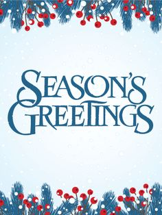 61 best seasons greetings cards images on pinterest card birthday its snow season seasons greetings card deck the halls with boughs of holly m4hsunfo