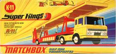 Vintage Toys Wanted by the-toy-exchange - A stunning piece of box art by Lesney MATCHBOX.